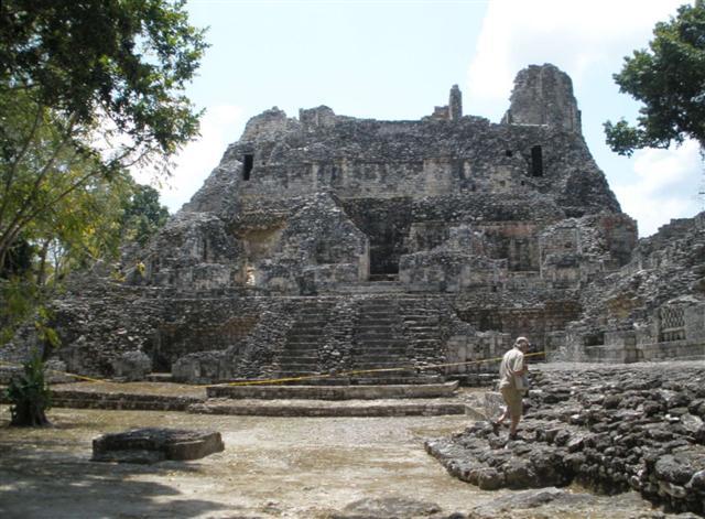 Mayan Ruins at Becan - Campeche, Mexico ©Susanna Starr