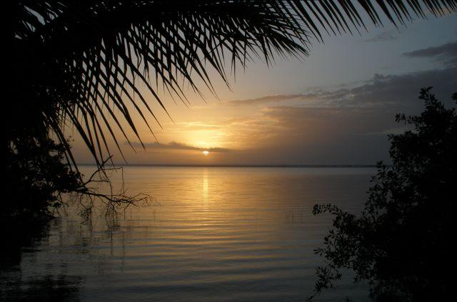 Sunrise at Laguna Bacalar - near archaeological zone - Quintana Roo, Mexico ©Susanna Starr