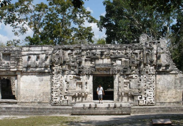 The Mouth of the Dragon - Chiccana Mayan Ruins - Campeche, Mexico ©Susanna Starr