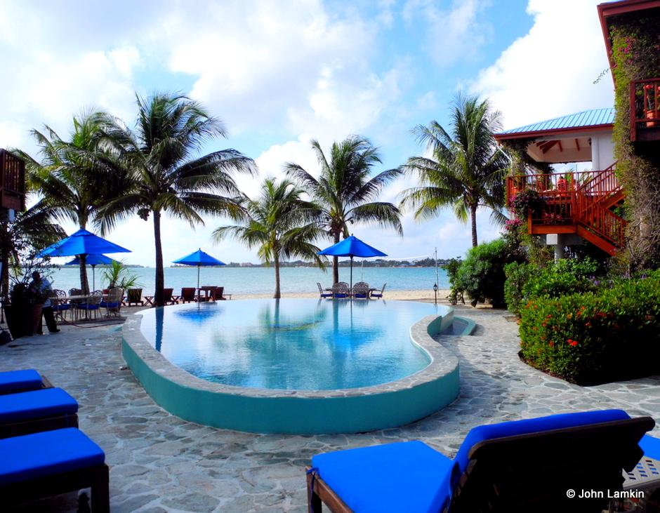 Pool at Chabil Mar Resort