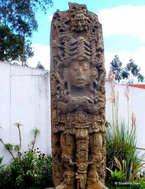 Maya Stela from Copan © Susanna Starr
